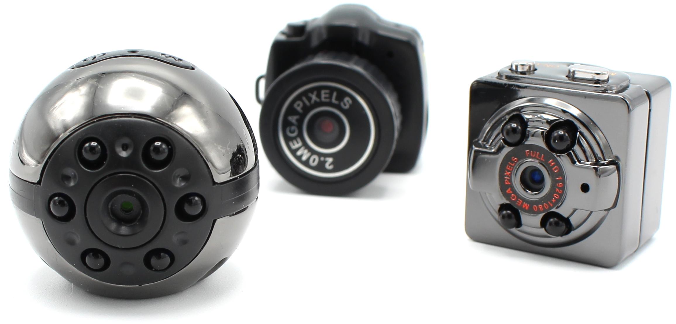 Kamery miniaturních rozměrů s kvalitním záznamem